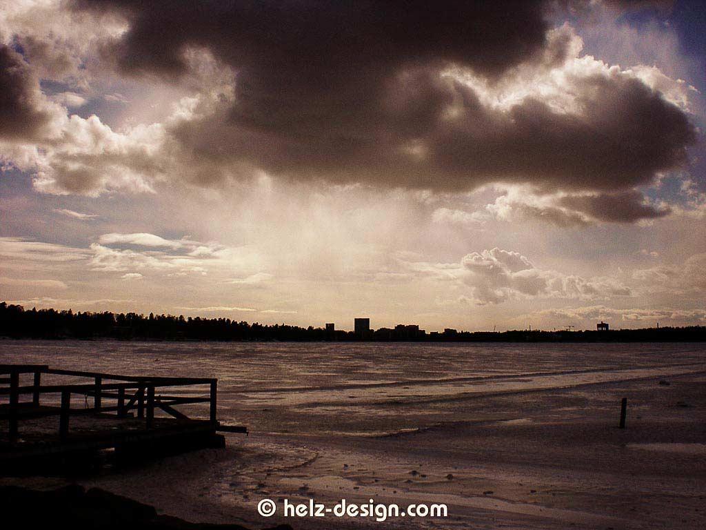 Munkkiniemi – Ostsee – im Hintergrund Espoo